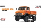 Tamiya XB Unimog 406 (CC-01) Orange 2.4G