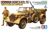 Horch Kfz.15 N. Africa, масштаб 1:35