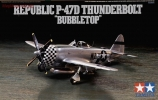 P-47D Thunderbolt «Bubbletop», масштаб 1:72