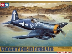 Vought F4U-1D Corsair, масштаб 1:48