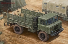 GAZ-66 Light Truck I, масштаб 1:35