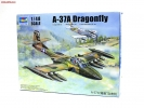 US A-37A Dragonfly Light Ground-Attack Aircraft, масштаб 1:48