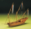 French Xebec масштаб 1:49