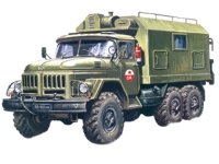 72812 Command Vehicle ZIL-131 (ICM) 1/72
