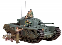British Churchill Mk.VII, масштаб 1:35