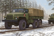 Russian URAL-4320 Truck, масштаб 1:35