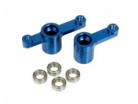 Aluminium steering posts with ball bearings