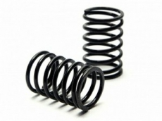 Пружины Shock Spring 13X25X1.7MM 7 Coils (BLACK/2PCS)