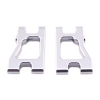Alum. Front/Rear Lower Arm (Silver): RC18R