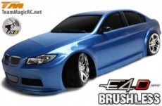 Team Magic E4D BMW 320 Drift Brushless 1:10 2.4G