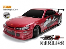 Team Magic E4D Silvia S15 Drift Brushless 1:10 2.4G