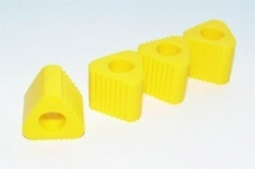 Triangular PAD FOR Heli Landing Gear (yellow)
