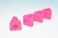 Triangular PAD FOR Heli Landing Gear (pink)