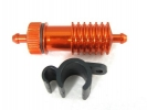 Anodized Orange Alu. Fuel Filter