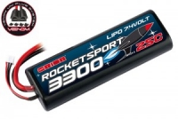 Аккумулятор Team Orion Rocket Sport LiPo 7.4V 2S 25С 3300 mAh (Tamiya,Deans,TRAXXAS,EC3)