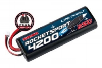 Аккумулятор Lipo 7.4 v Team Orion Rocket Sport LiPo 7.4V 2S 25С 4200 mAh (Tamiya,Deans,TRAXXAS,EC3) ORI14171
