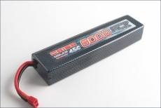 Аккумулятор Team Orion Carbon FLX LiPo 7.4V 2S 45С 8000 mAh для автомоделей (T-PLUG/Deans)
