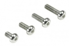 Aluminum 7075 Lightweight Button Head Screw (12) 3x10mm