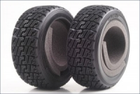 High Grip Rally Tire (With Inner/2pcs/DRX)