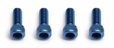 FT 4-40 X 5/16 Socket Head Cap Screw, blue aluminum