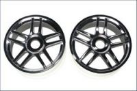 Wheel(10-Spoke/Silver Platinge/2Pcs)