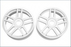 Wheel(10-Spoke/White/2Pcs)