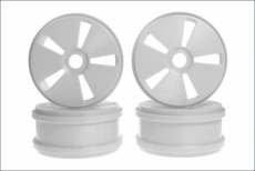 Hard Dish Wheel(White/MP777/4pcs)