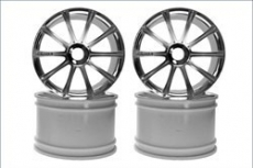 Ten-Spoke Wheel(Plated/ST-R/4pcs)
