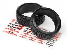 Шины дрифт 1/10 - Advan Neova AD07 T-drift Tire 26mm (2шт)