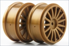 Wheel (15-Spoke/Gold/2pcs/DRX)