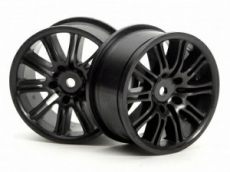 Диски 1/10 - 10 Spoke Motor Sport 26MM Black 2шт