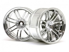 Диски колес 1/10 - LP29 Rays Volk Racing RE30 Chrome (2шт) 3mm OffSet