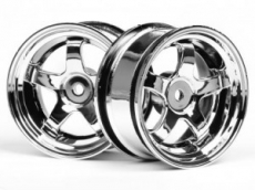 Диски 1/10 - Work Meister S1 Wheel 26mm Chrome (3mm Offset)