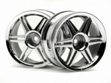 Диски 1/10 - (12 спиц Corsa Chrome 26MM / вынос 3MM) 2шт