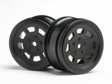 Диски 1/10 - Vintage Stock CAR 26mm Black (0mm Offset) 2шт