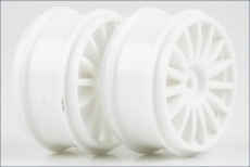 Wheel (15-Spoke/White/2pcs/DRX/GT46)
