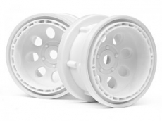 Диски T10 - Rock 8 Bead Lock Wheel White (55x36mm/2шт)