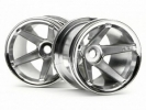 Диски колесные (Т-10) Super Star MT Wheels Chrome (rear/deep Offset)