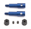 FT Blue Aluminum Inline Axle