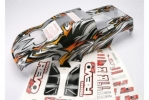 Body, Revo 3.3 (extended chassis), ProGraphix (replacement for painted body. Graphics are painted- r