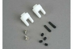 Differential output yokes (2)/ 3x5mm countersunk screws (2)/ 3mm set (set) screws (4)