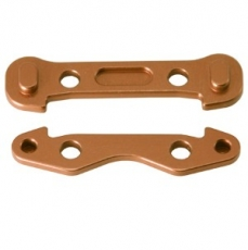 Alum. Front Arm Mount (Copper): Associated RC8
