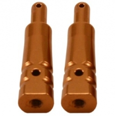 Alum. Fuel Tank Mount (Copper): Associated RC8