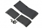 3.3 & 16.8 T/E-Maxx Skid Plate Set (3pc.) - Black