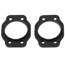 Alum. Spacer 4 Degree (Black): HPI Baja 5b