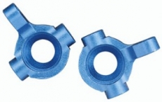 Поворотный кулак Factory Team Steering Blocks, blue aluminum