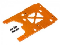 Пластина моторамы Engine Plate 2.5mm (7075/ORANGE)