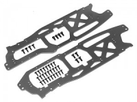 Пластины шасси Main Chassis SET 2.5mm (savage Flux HP / Gray)