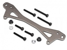 Rear Shock Mount Plate A (GUNMETAL/+12mm)