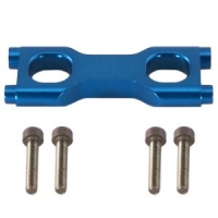 Alum. Bulkhead Brace Front or Rear (Blue): Savage .21/.25
